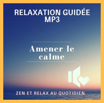relaxation anti-stress calme